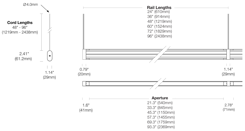 Options 107-DR-CC Dimensions